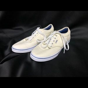 Authentic Lo Pro Vans - Cream